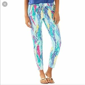 Lilly Pulitzer Lola Pant in Light as a Feather